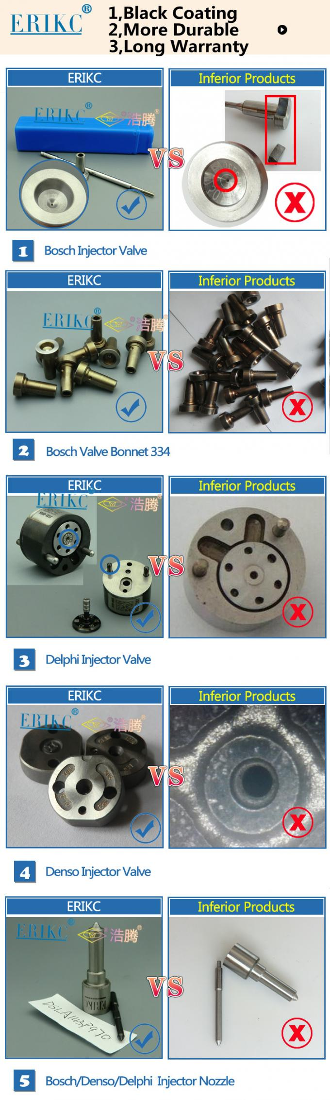 Holden denso control valve  C for 095000 6980,automotive parts fuel injector rod 6980 for 095000 6980 size:  56.35 mm
