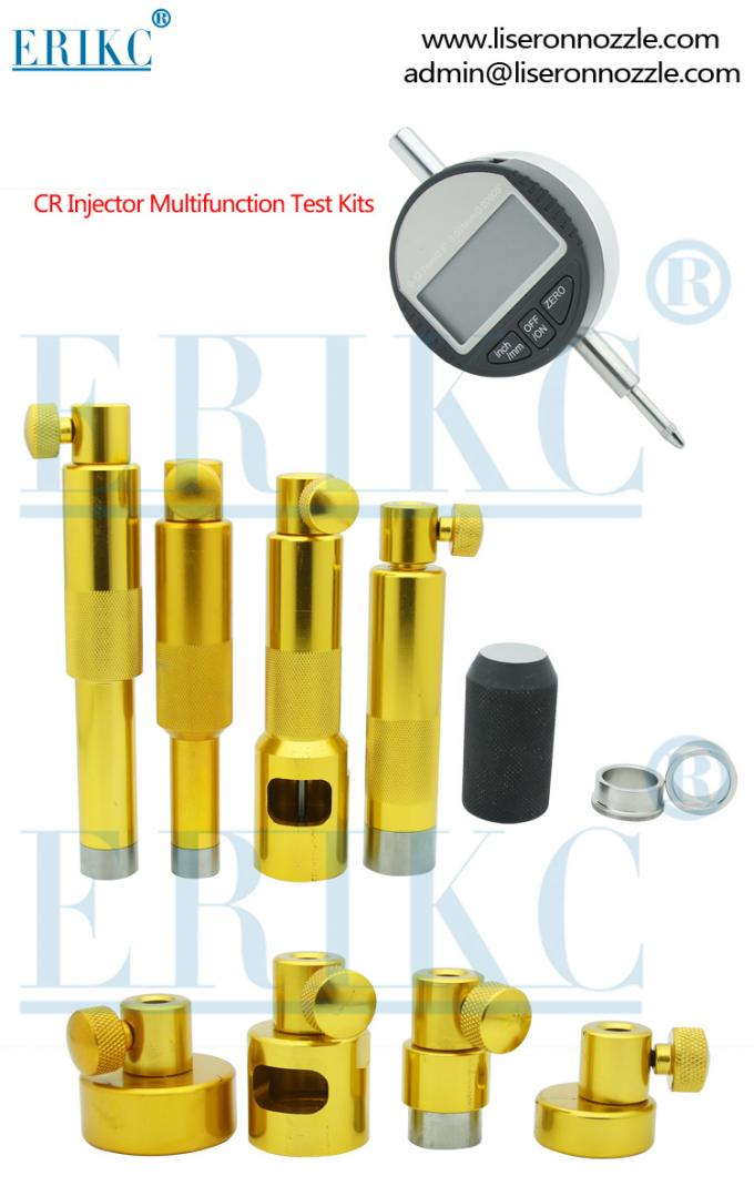 ERIKC yellow  Lift measurement tool common rail injector universa auto part injector measuring repair tool