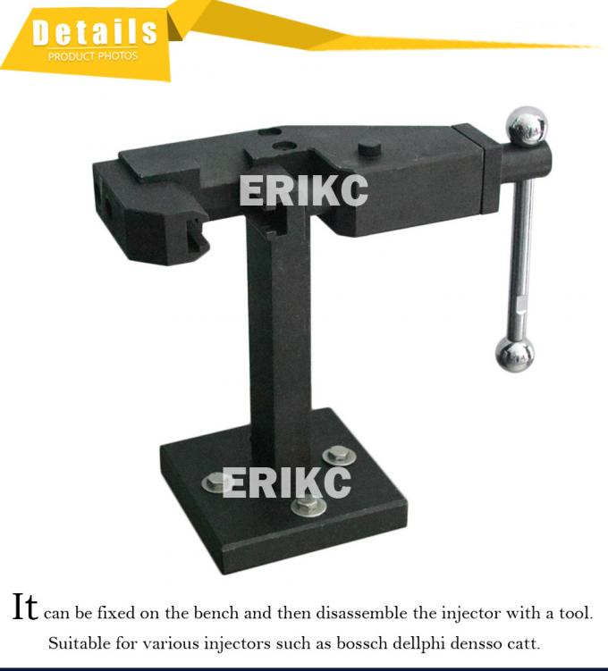 ERIKC common rail injector Flip stand Disassemble rack tool repair auto parts universal bosch denso delphi