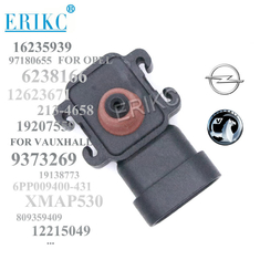 ERIKC 8093594090 Manifold Absolute 97180655 Intake air Pressure Map Sensor 16235939 for Chevrolet Buick GMC SAVANA