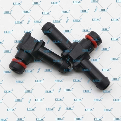 injection Return Oil Backflow Pipe Connector L and T types oil pipe for denso injector solenoid valve