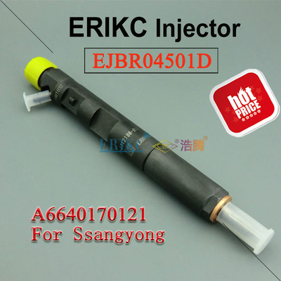 Ssangyong diesel fuel injection pump EJBR04501D high pressure injector R04501D,Diesel  Injector 4501D delphi 6640170121