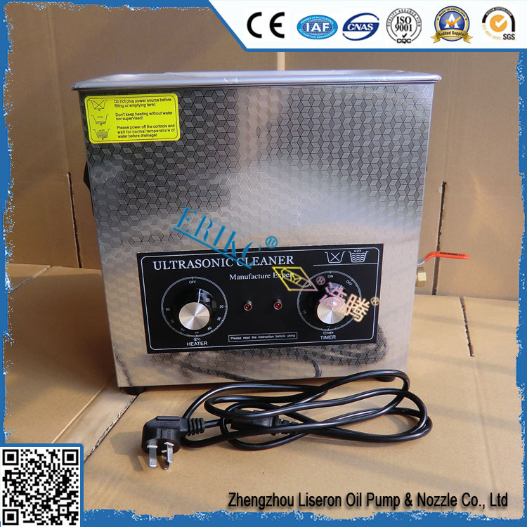 ERIKC high standard diesel tank cleaning machine , fuel injection cleaning tool and common rail ultrasonic cleaner