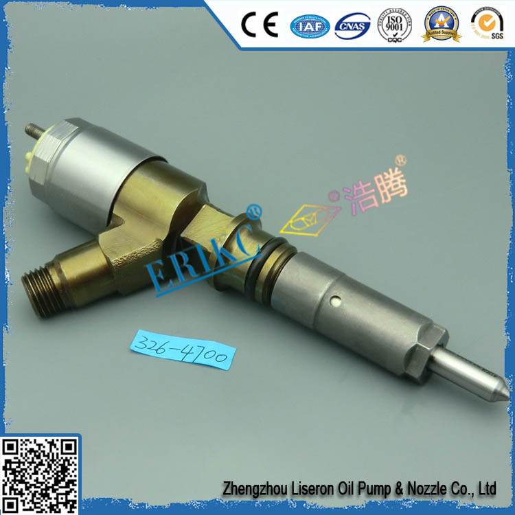 ERIKC C6.4 common rail fuel injector 3264700 , cat original 320D injector engine oil injector 3264 700 / 326-4700