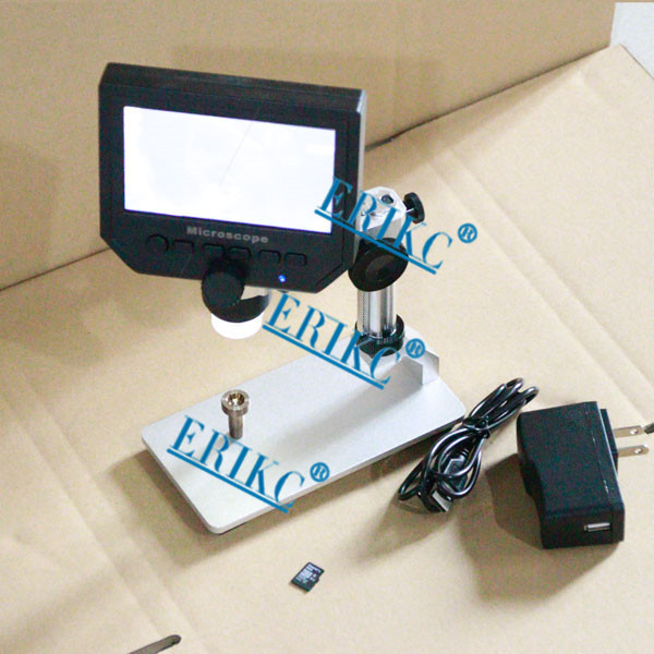 Storage function and industry Digital Stereo Microscope with LCD Screen, folds ,can be adsorbed on the surface