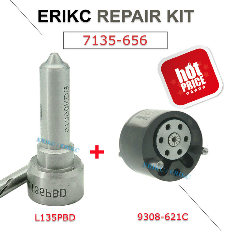ERIKC 7135-656 auto engine spary nozzle L135PBD control valve 9308-621C repair kit group for 4S7Q9K546BD RM4S7Q9K546BD