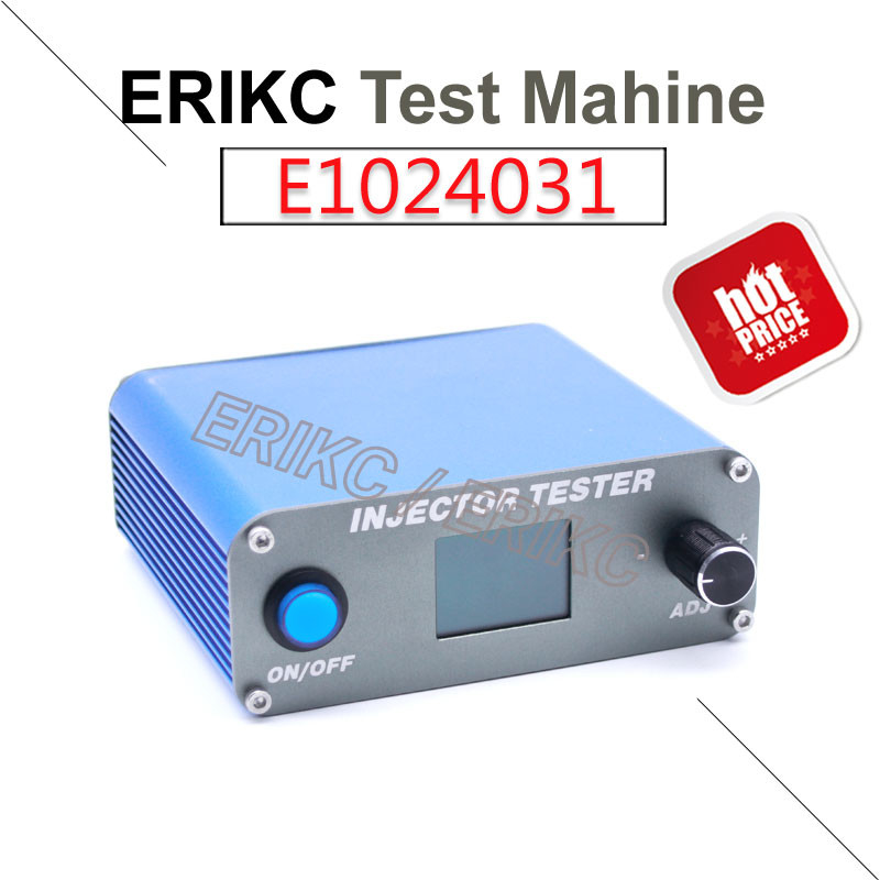 ERICK diesel fuel injection pump test machine auto petrol pump testing machine and engine injector test bench used car