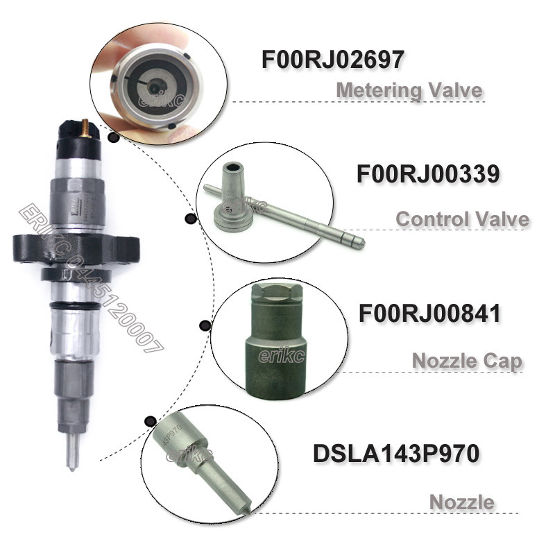 Pl Erikc Diesel Engine Car Injector Auto Part Fuel Injection Common Rail Injectors on Diesel Engine Injector Tester