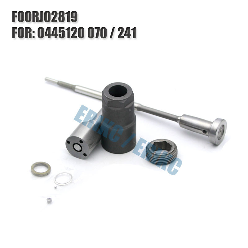 ERIKC injector NOZZLE repair kit FOORJ02819 auto engine parts  F OOR J02 819 valve for 0445120241