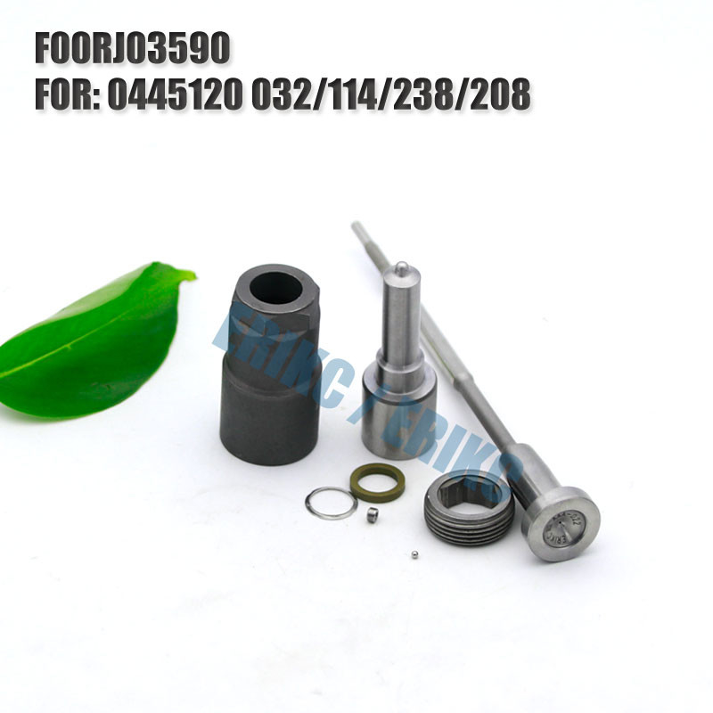 ERIKC FOORJ03590 fuel diepenser injector repair kit OIL nozzle F OOR J03 590 AUTOPARTS for 0445120238 0445120208
