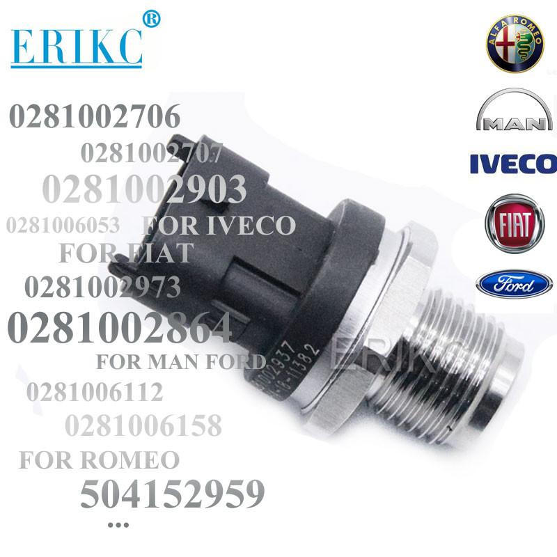 Bosch 0281002937 Fuel Rail High Pressure Regulator Sensor 0281002903 0281002706