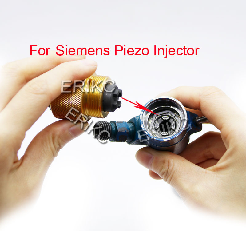 ERIKC siemens piezo genuine common rail injector inner wire disassemble tools inside wire assemble assembly tool